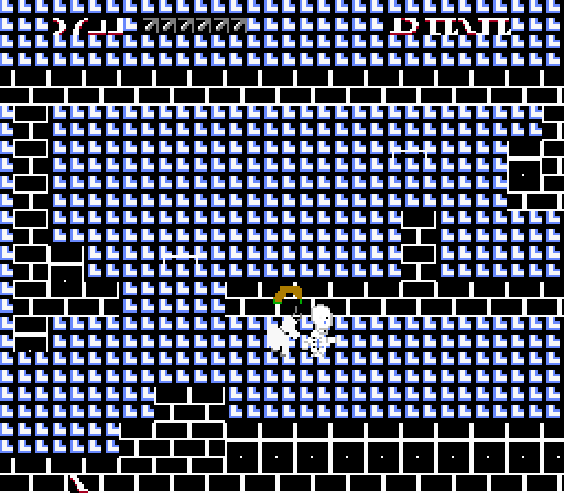 Holy crap, what happened here? Did that guy walk off the title screen to the right? You broke my game! How could you?
